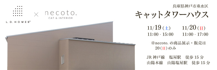 キャットタワーハウス(兵庫県神戸市垂水区)