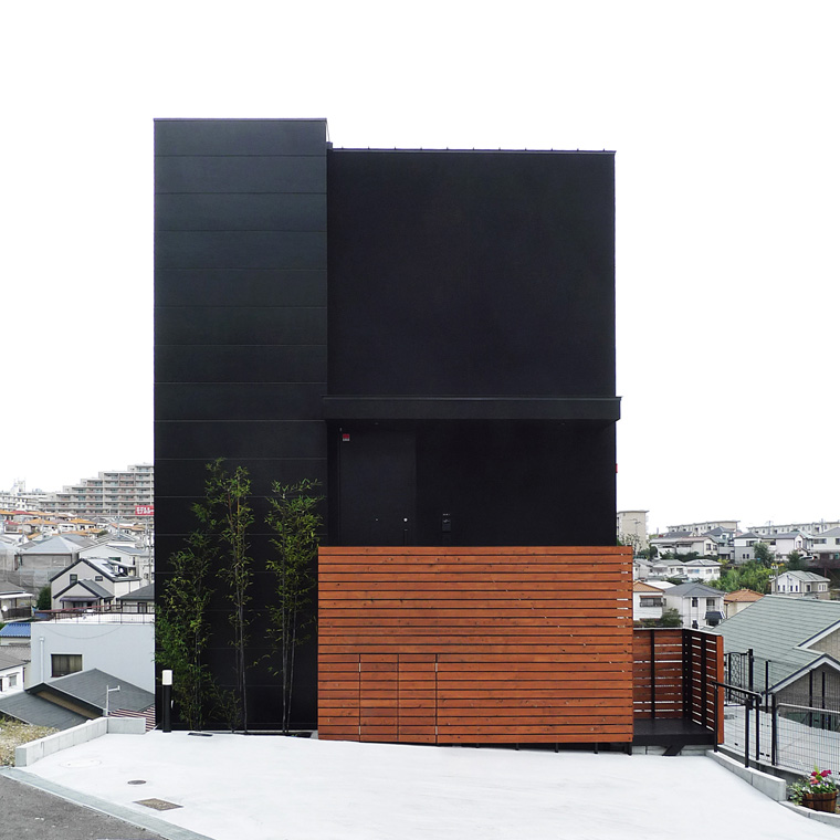 シンプル住宅外観