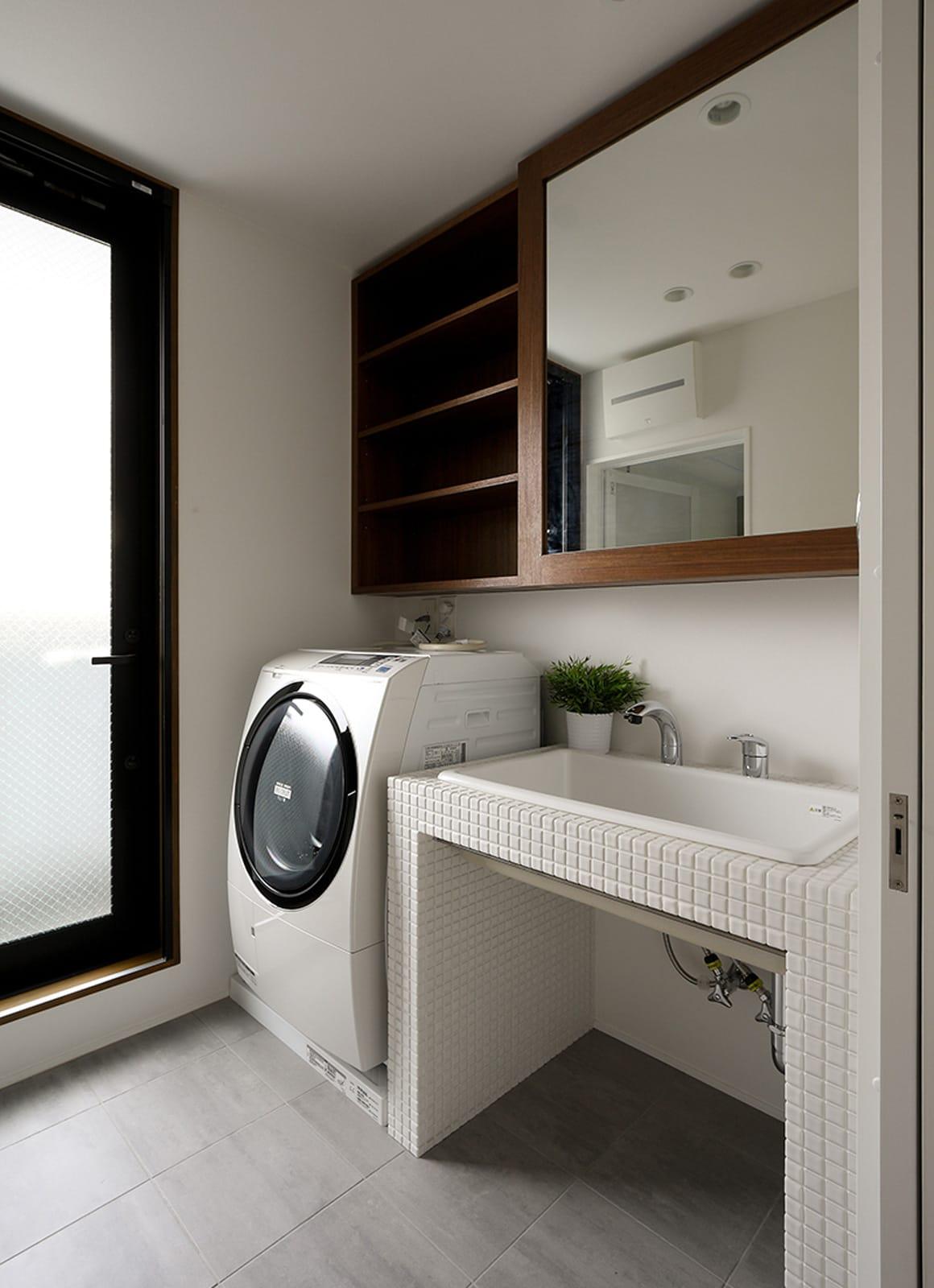 チェリーブロッサムハウスの浴室・洗面室1