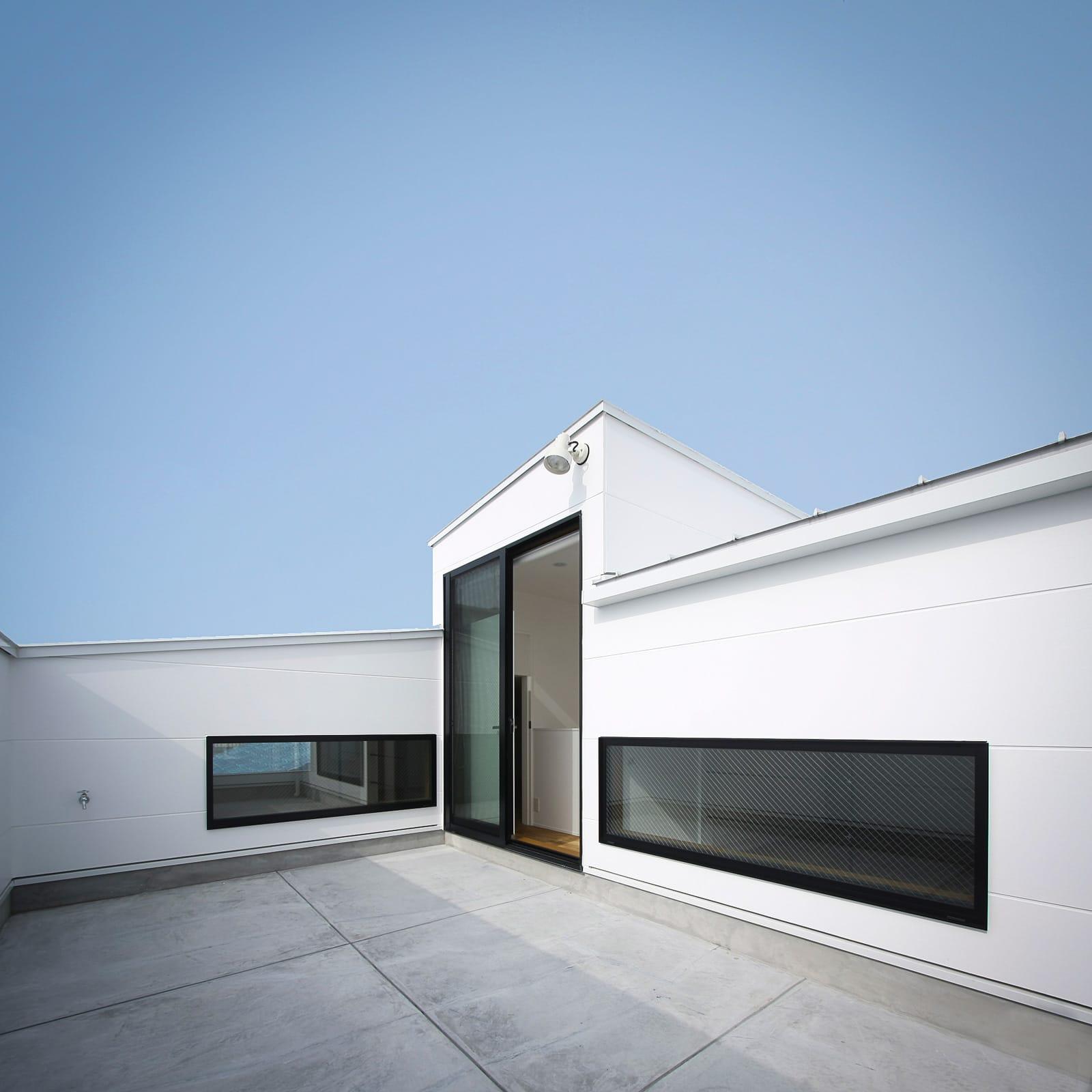 チェリーブロッサムハウスの屋上・テラス1
