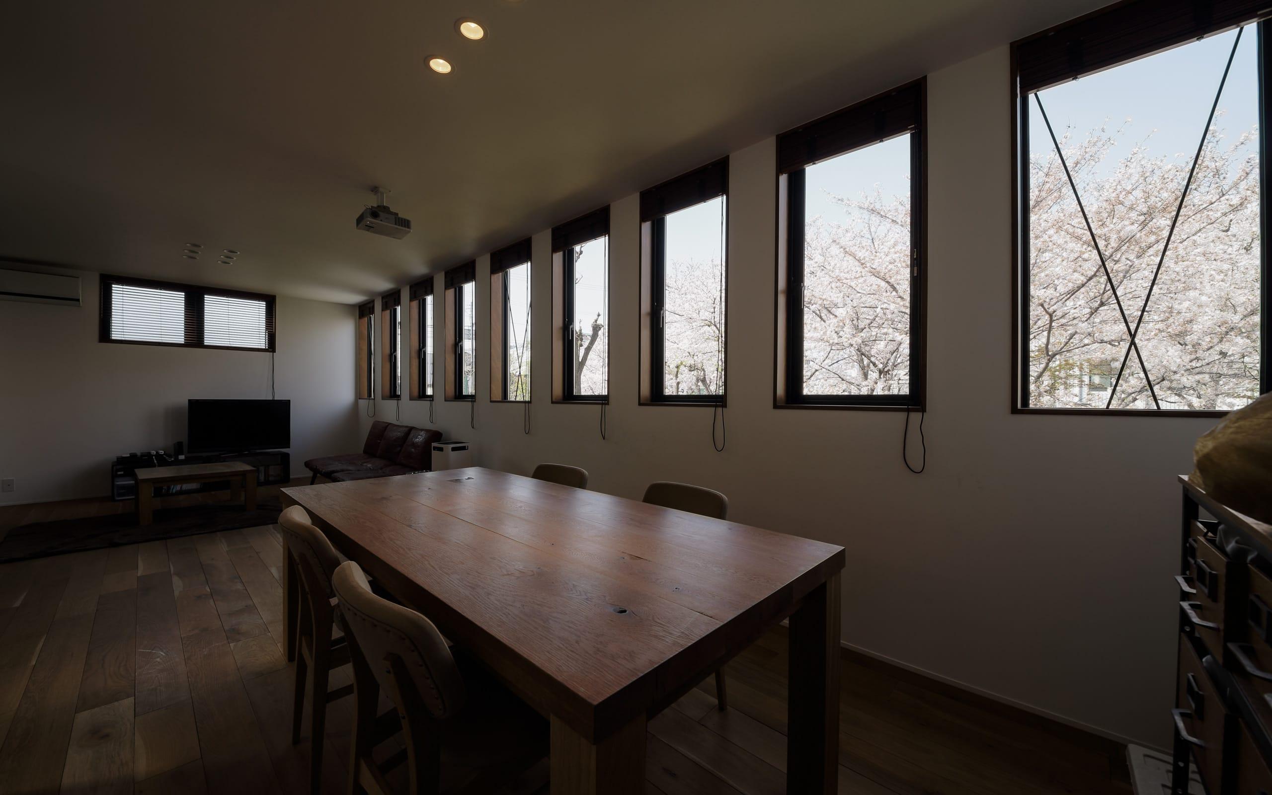 チェリーブロッサムハウスの眺望2