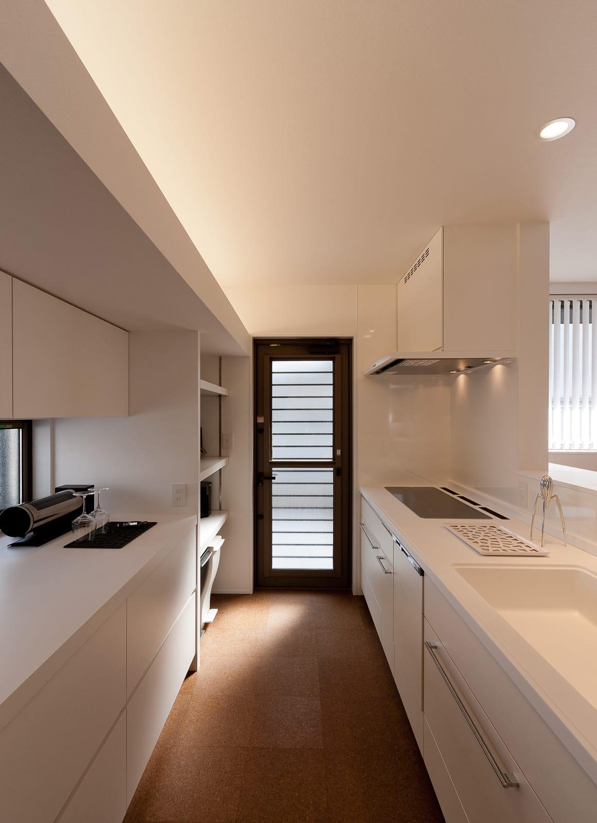 バランスのとれた優等生住宅の収納(キッチン)1