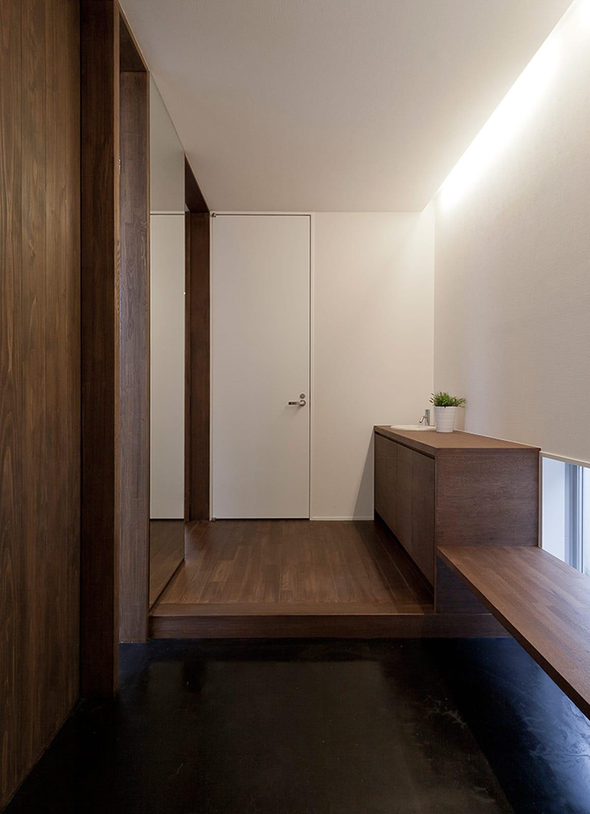 I♥チョコレートハウスの玄関(土間・ホール)2