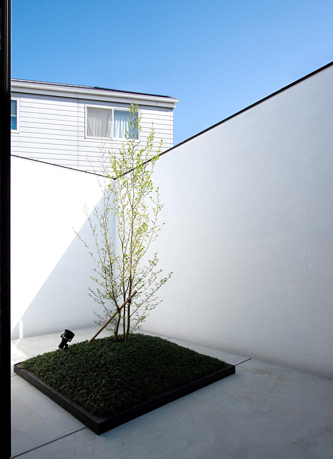3つの中庭のあるリゾートハウスのテラス・バルコニー1
