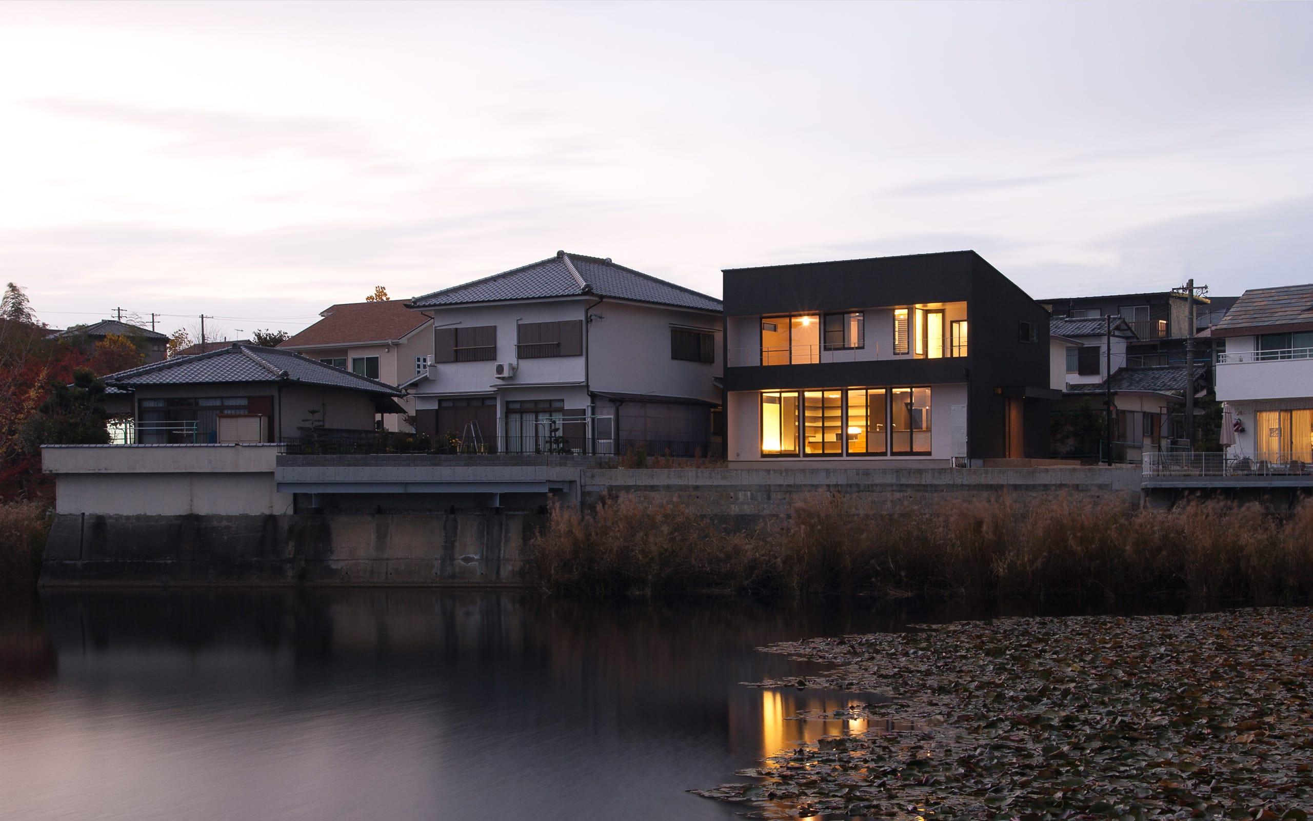 スローライフを楽しめる家の眺望2