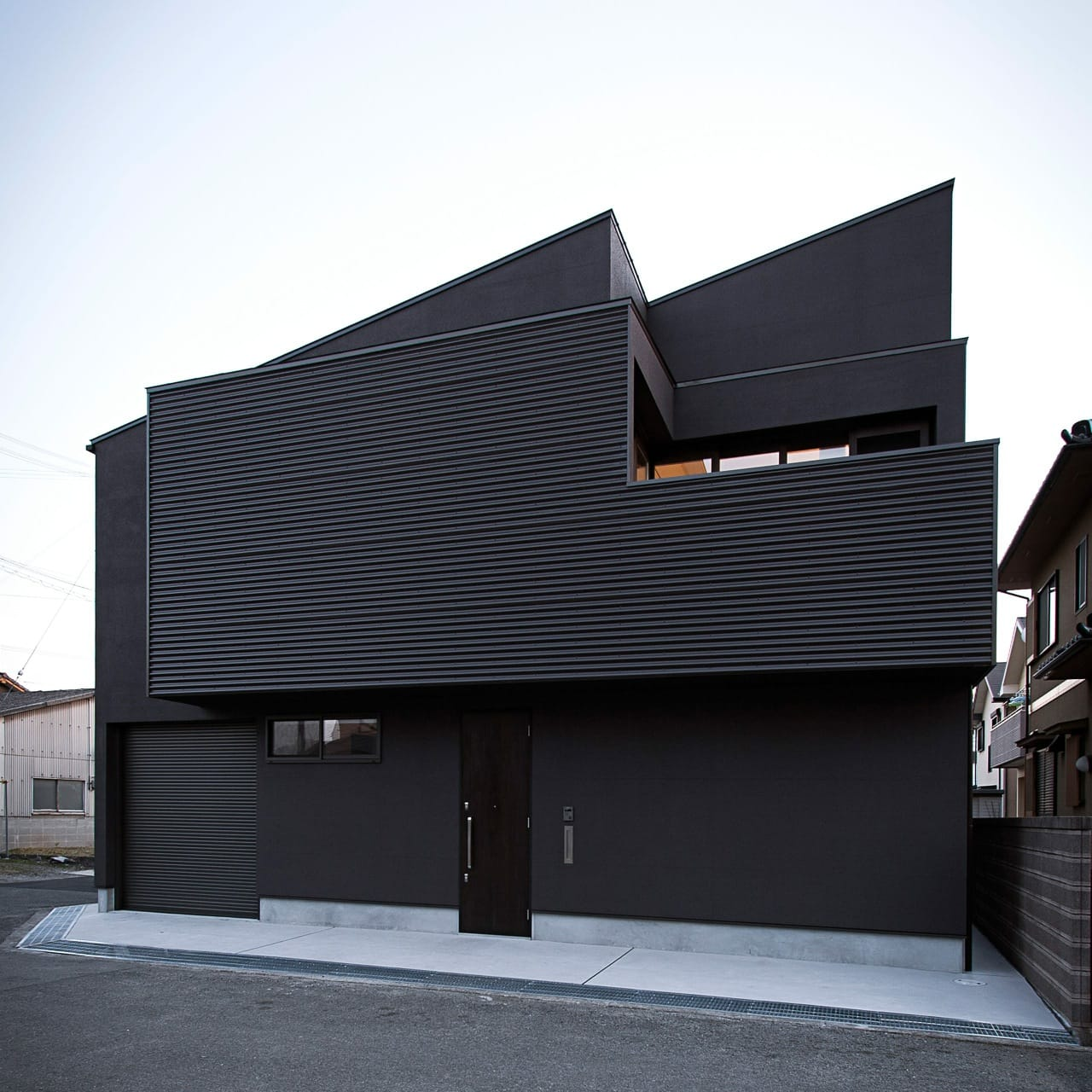 開放的なLDKのあるデザイン住宅