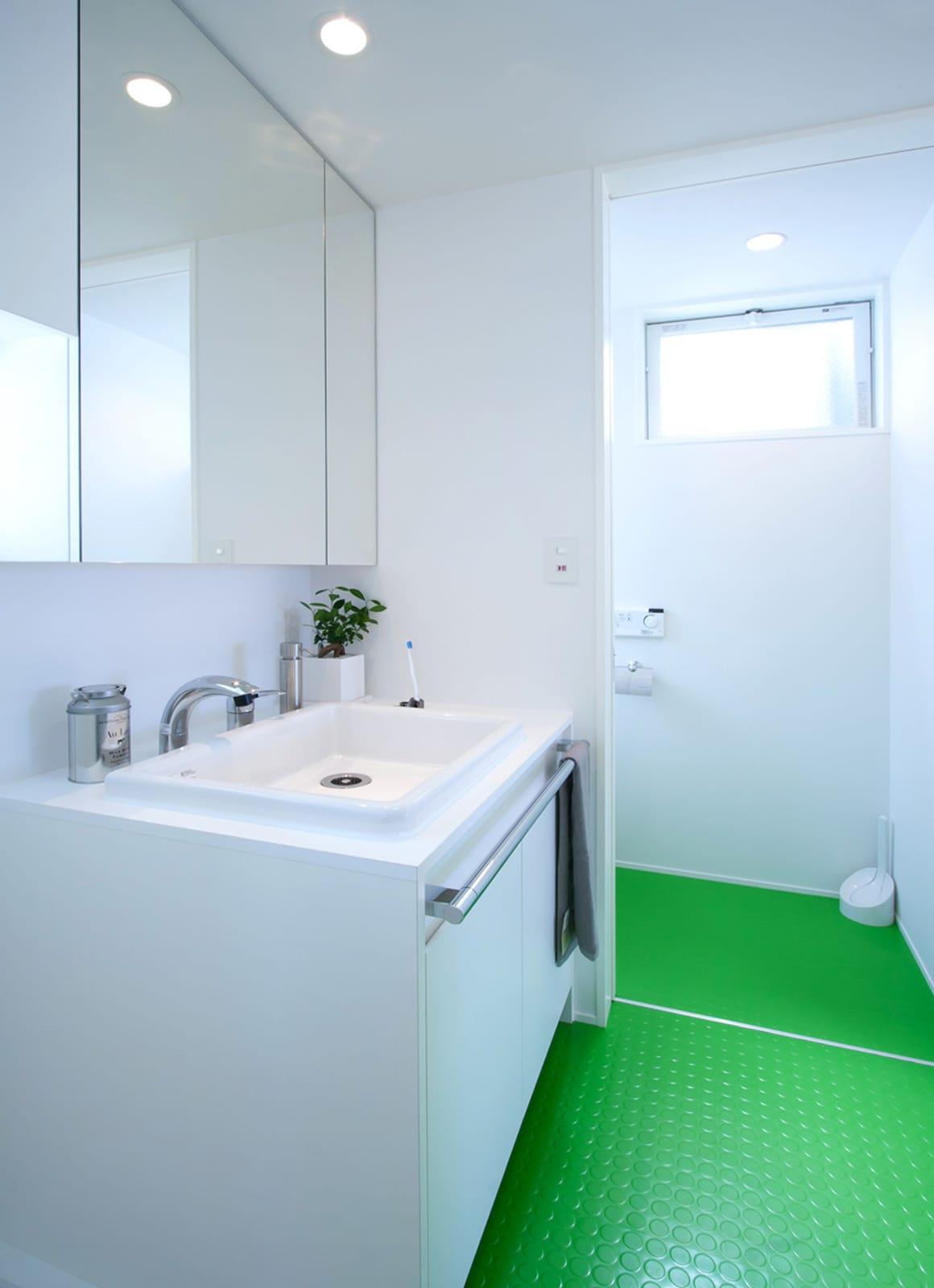 スマイル!アバターハウスの浴室・洗面室1