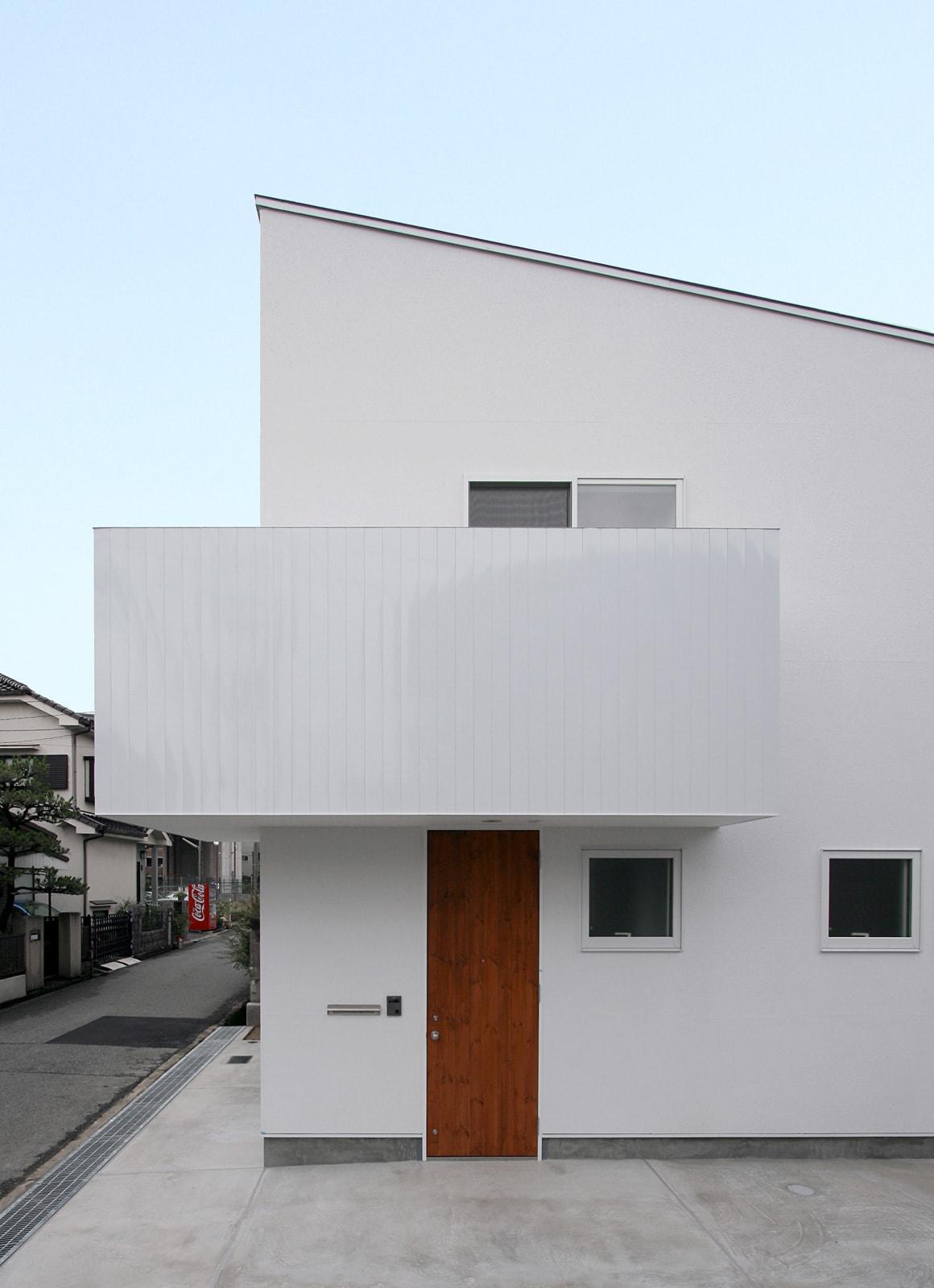 シンプルカントリーの家の外観3