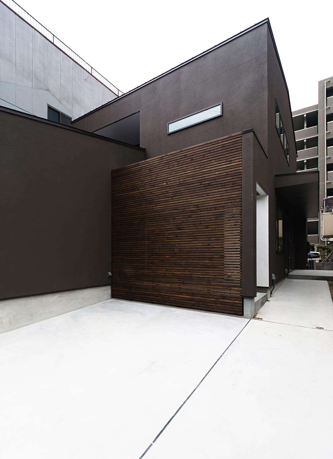 京都の坪庭ハウスの外観2