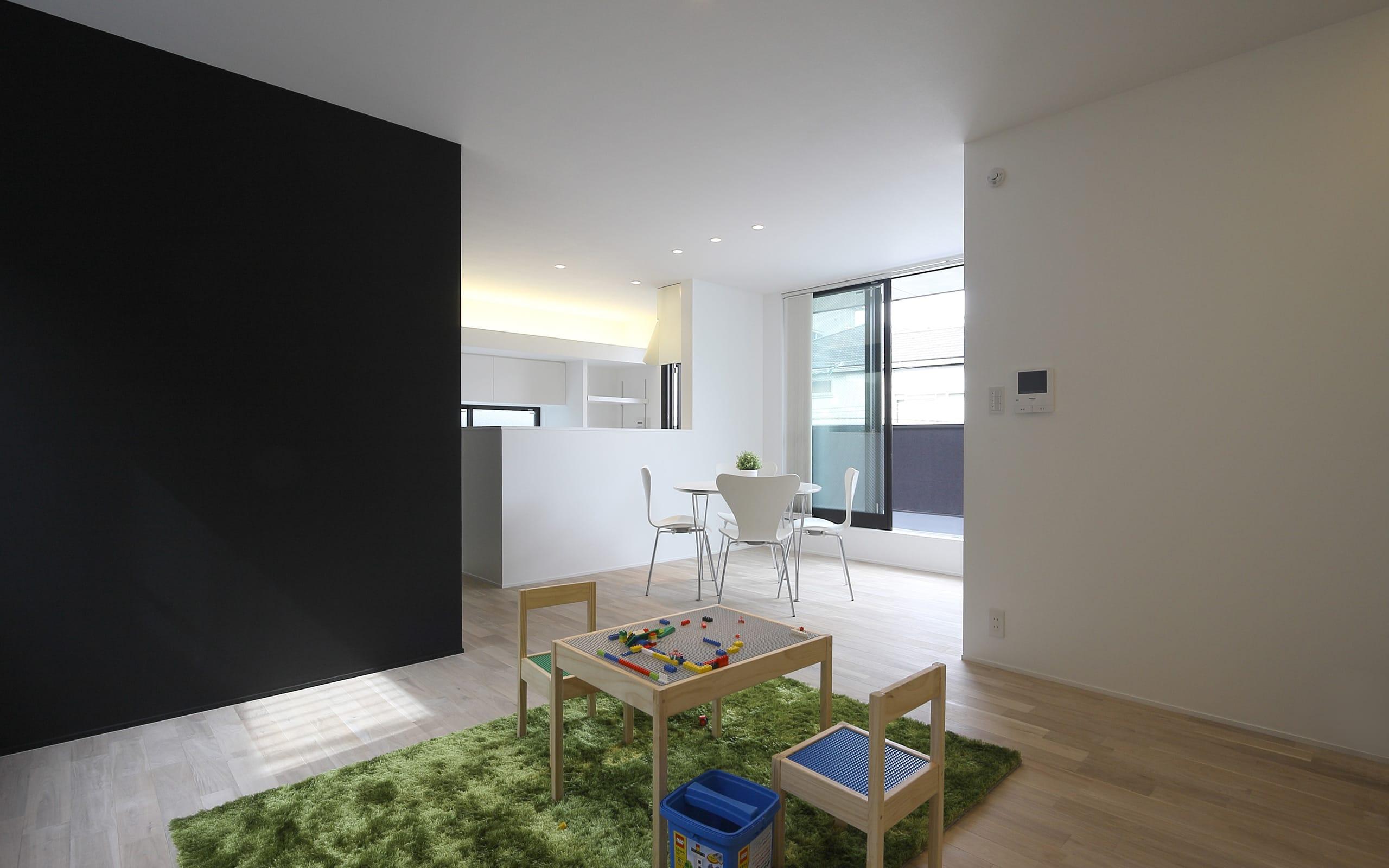 都市型三世帯住宅のLDK1