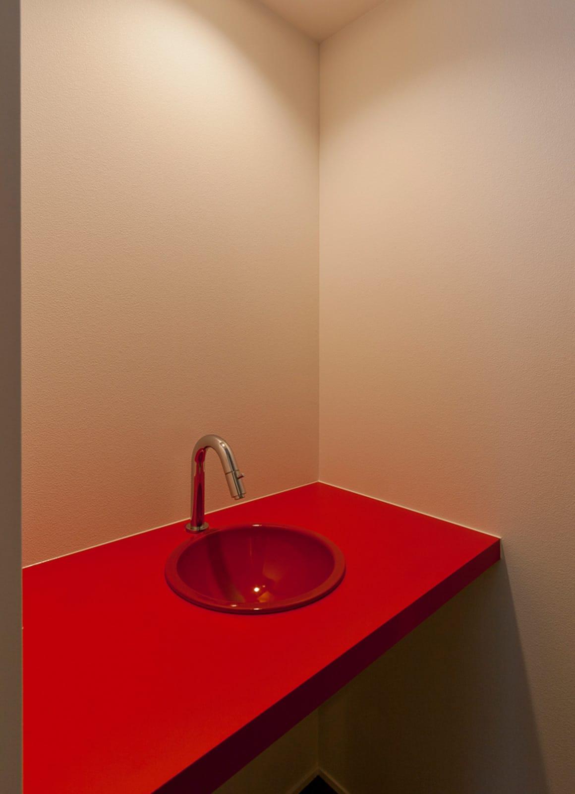 ★チョーボーですよ★ハウスの浴室・洗面室1