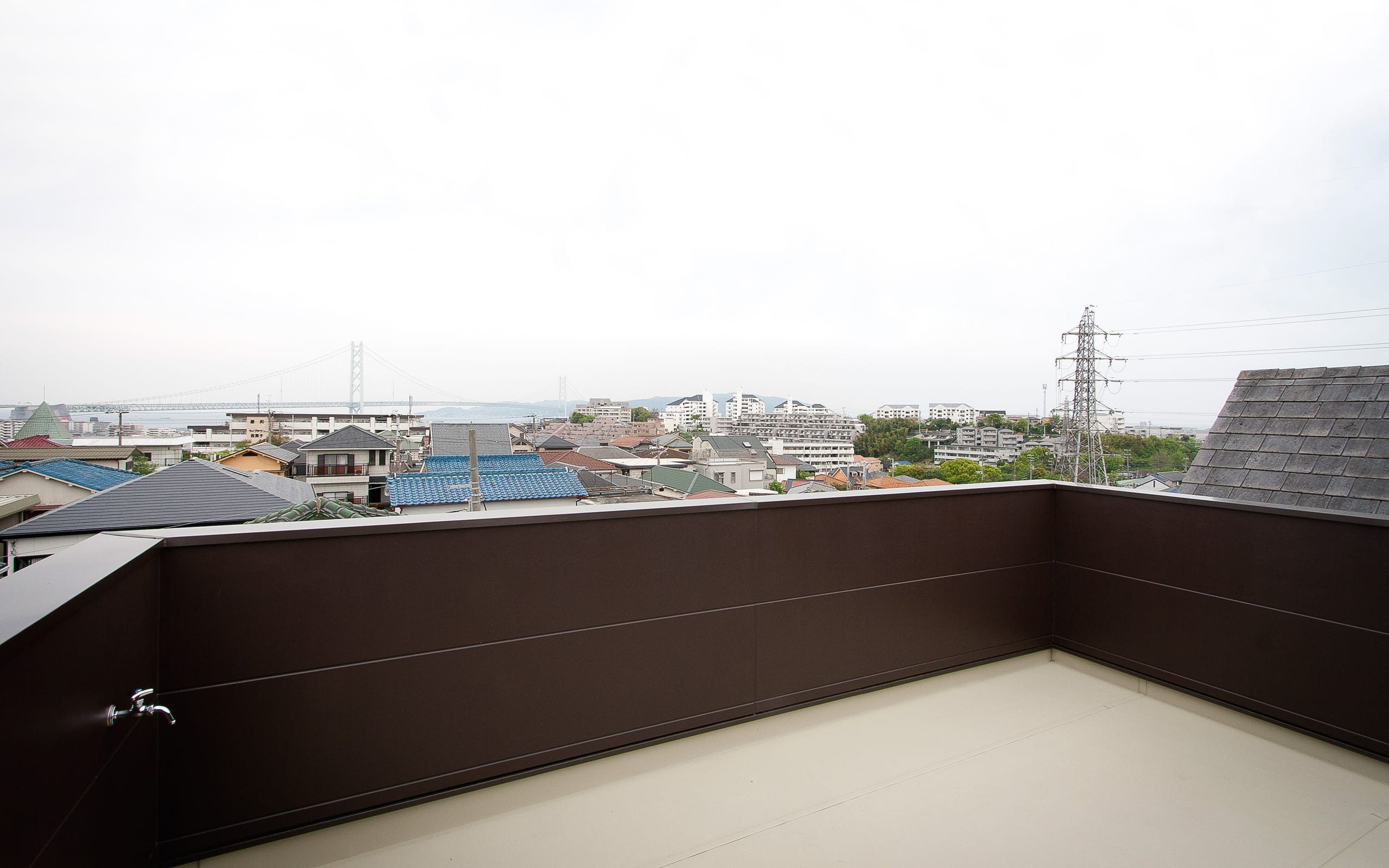 ★チョーボーですよ★ハウスの屋上・テラス1