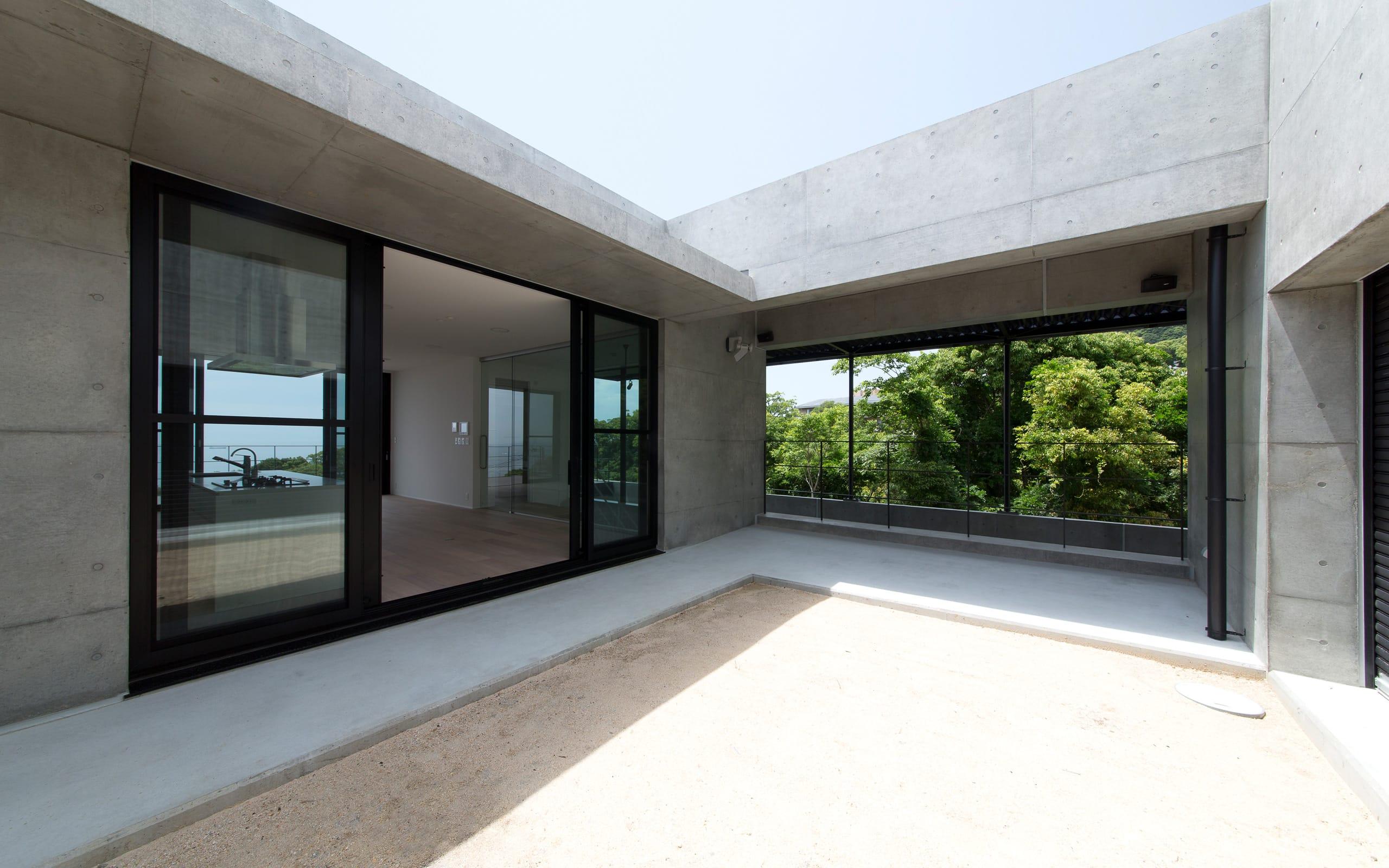 非日常スタジオ付ガレージ住宅の眺望4