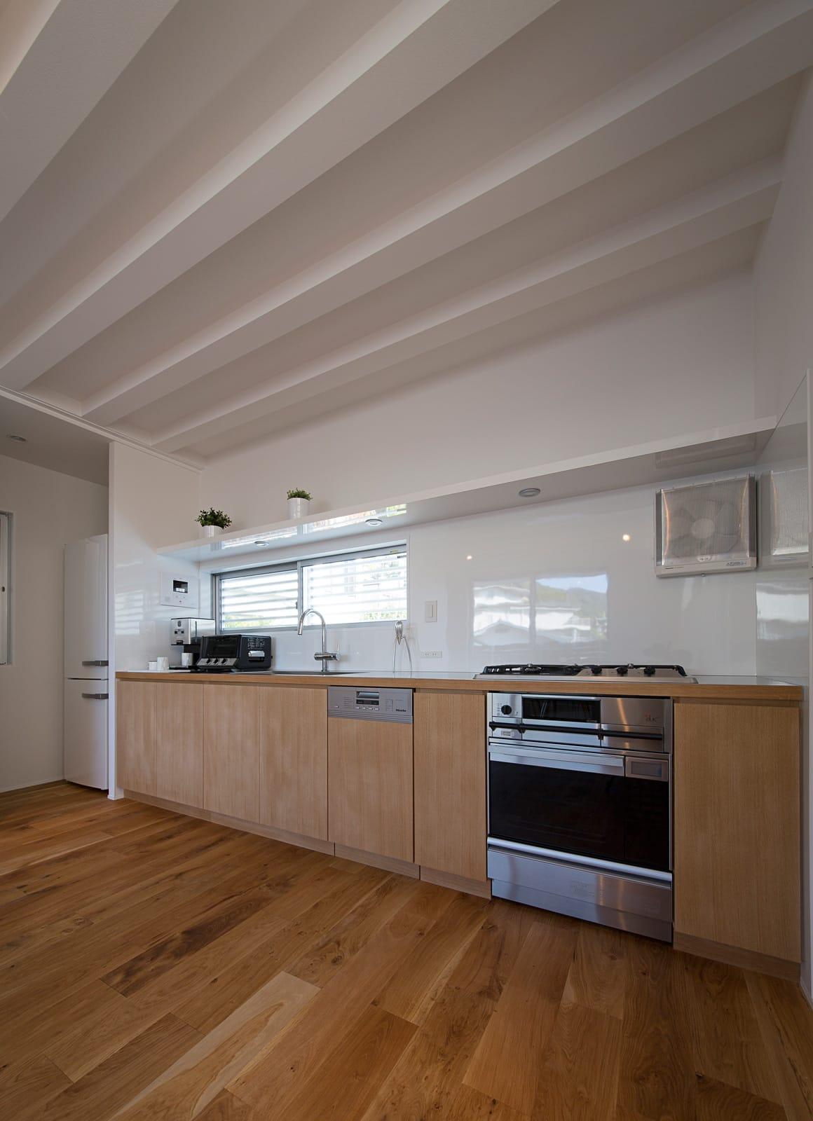 Wテラスハウスのキッチン1
