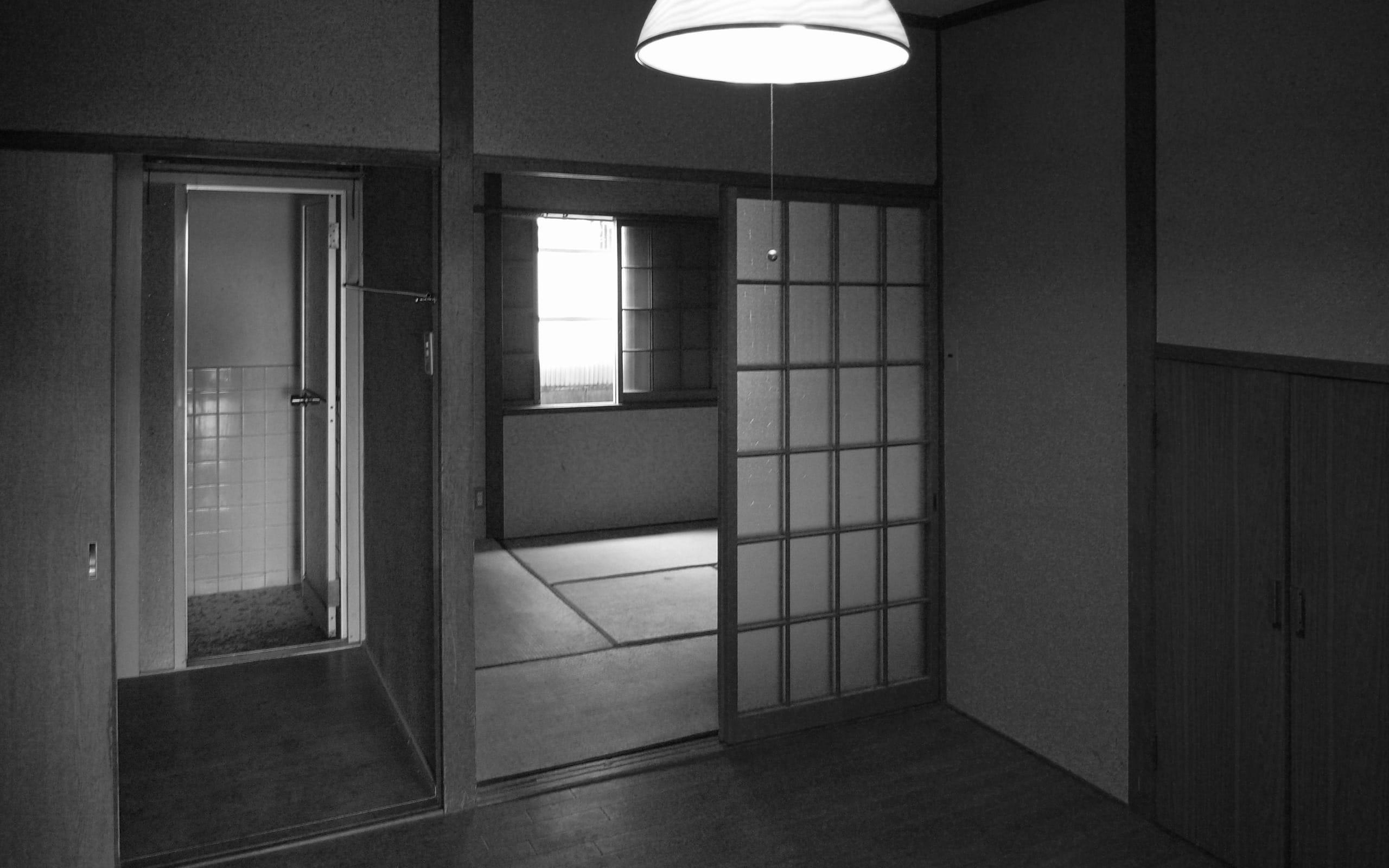 桜を眺める築40年の戸建住宅再生の改修前2