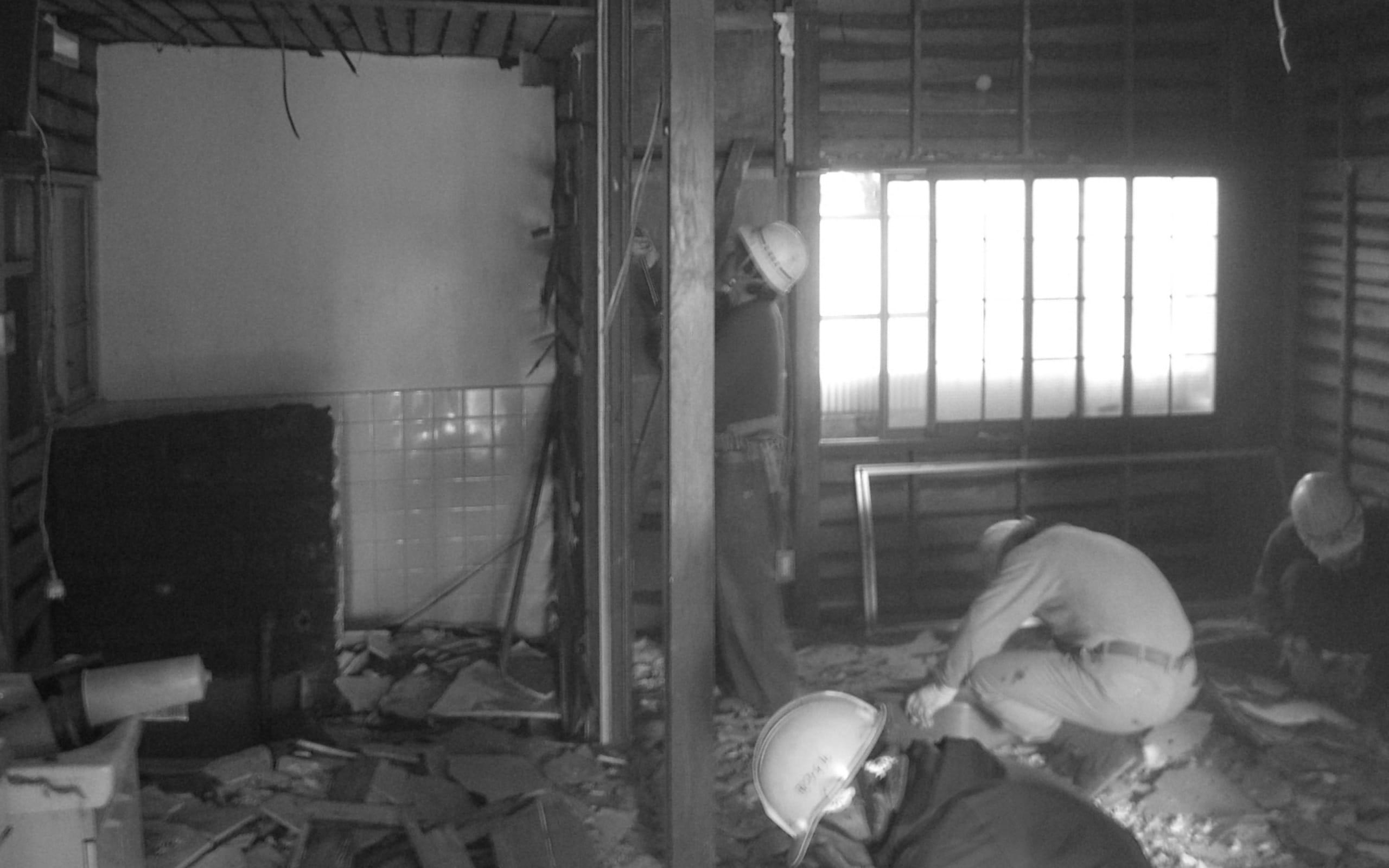 桜を眺める築40年の戸建住宅再生の改修前3