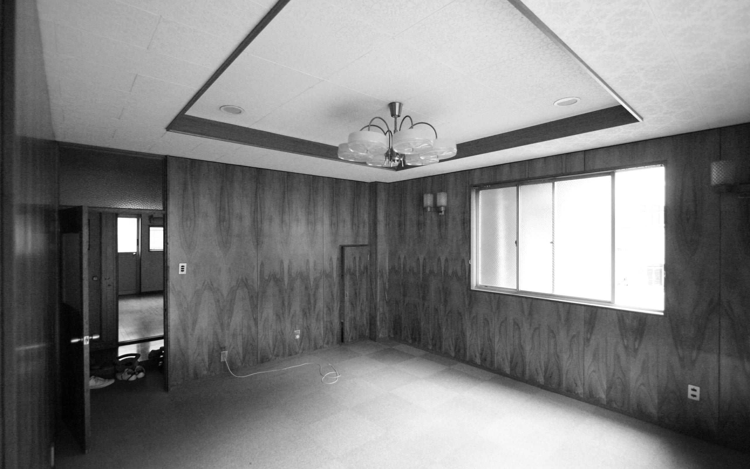 築34年の事務所ビルコンバージョンの改修前2