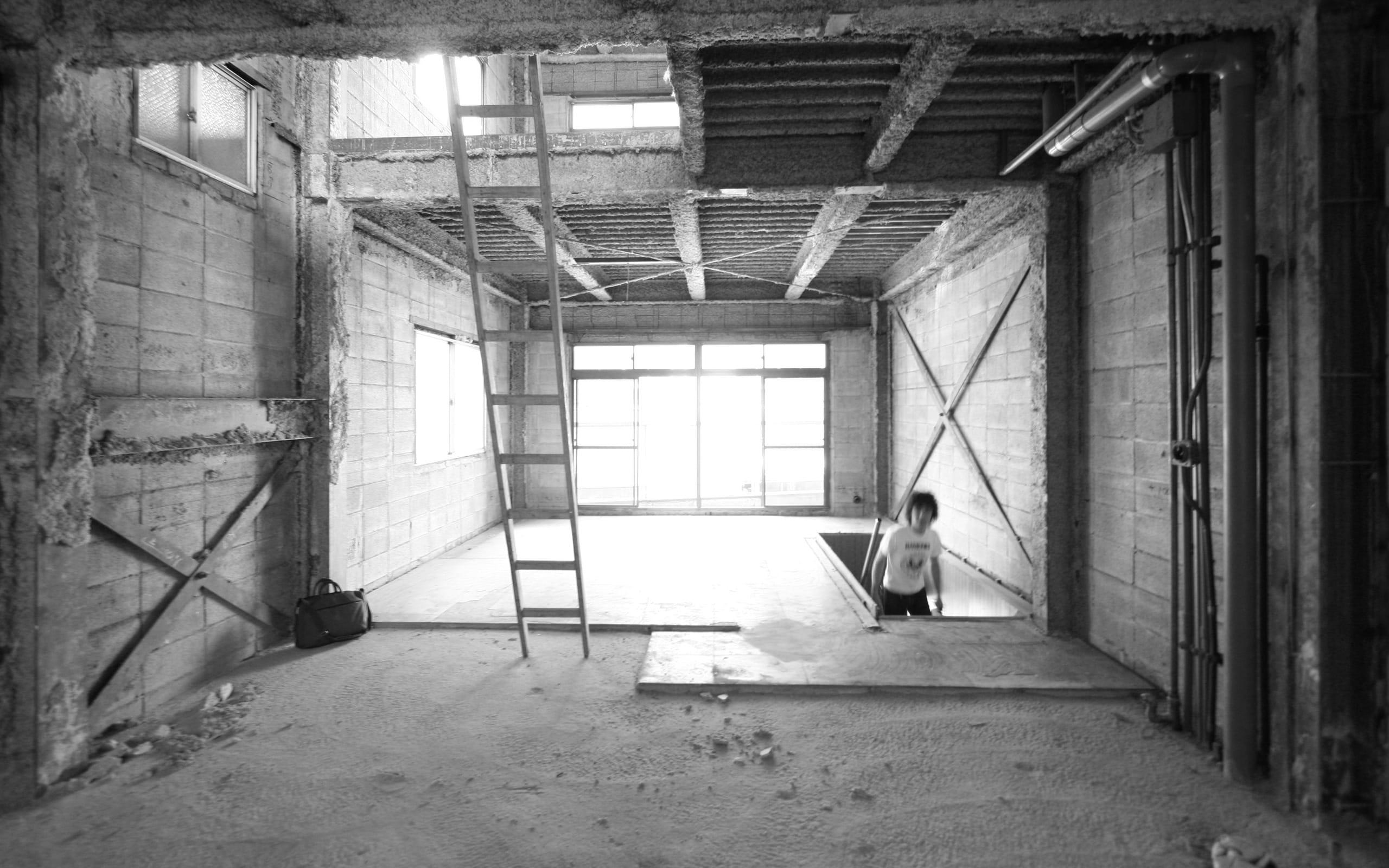 築34年の事務所ビルコンバージョンの改修前4