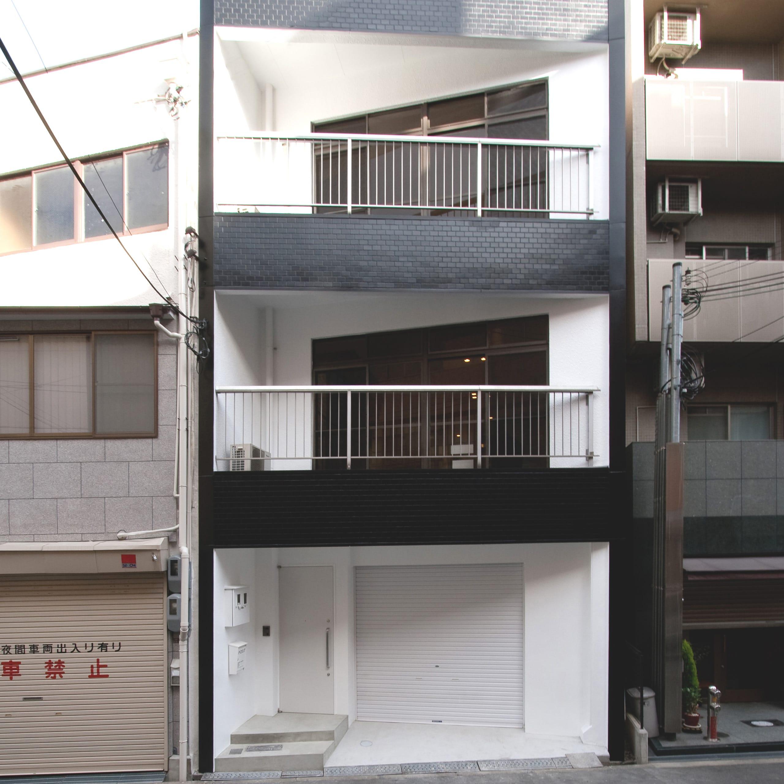 築34年の事務所ビルコンバージョン