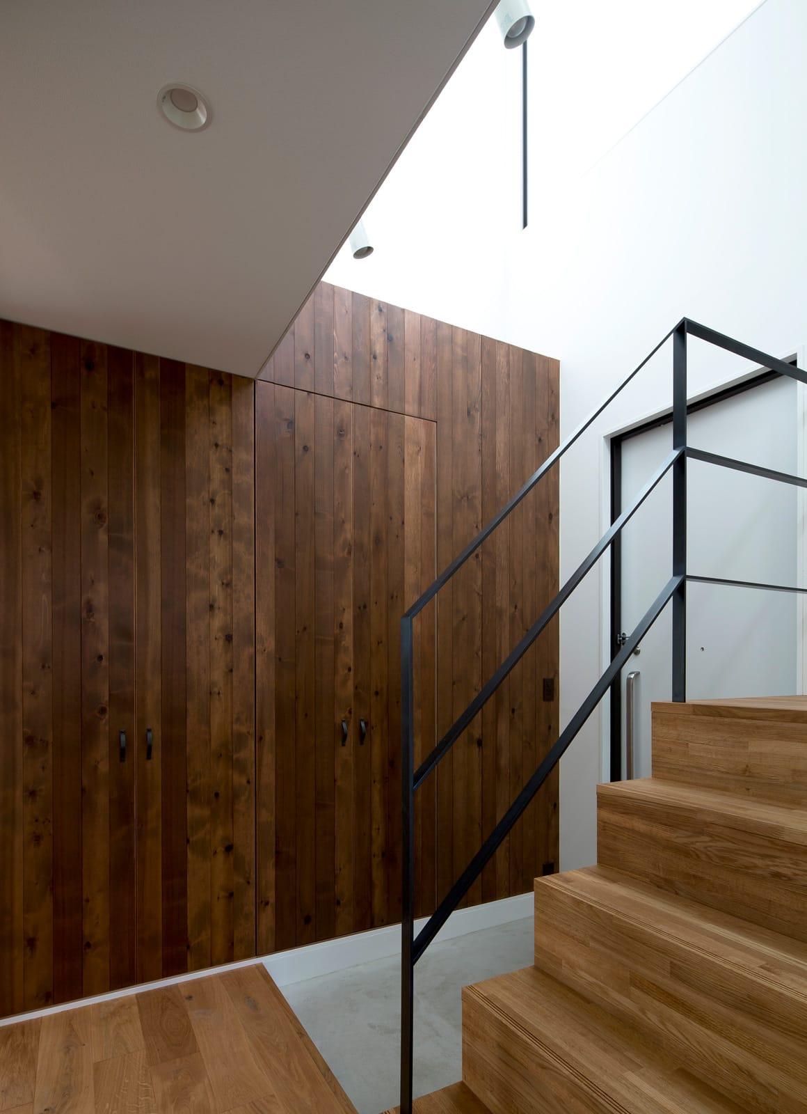 スキップギブソンハウスの収納(玄関)1