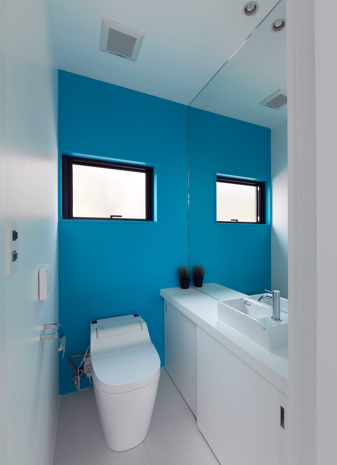 エクスチェンジハウスのトイレ1