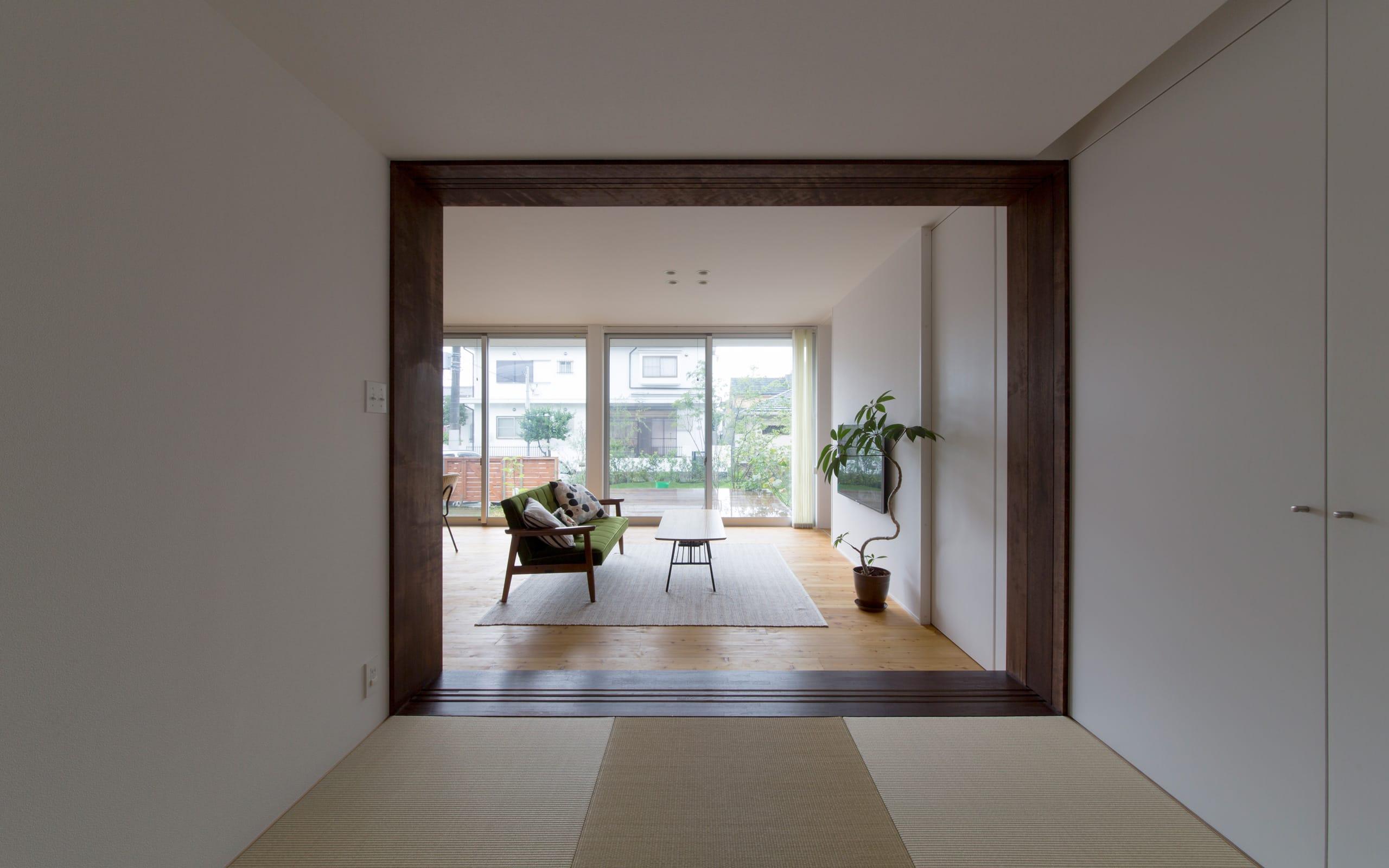 川西 GREEN HOUSEの和室3