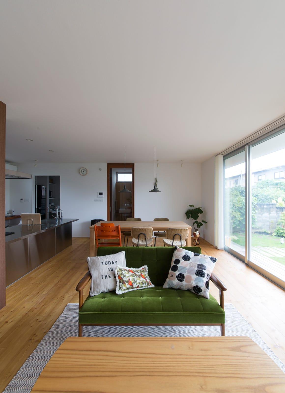 川西 GREEN HOUSEのリビング1