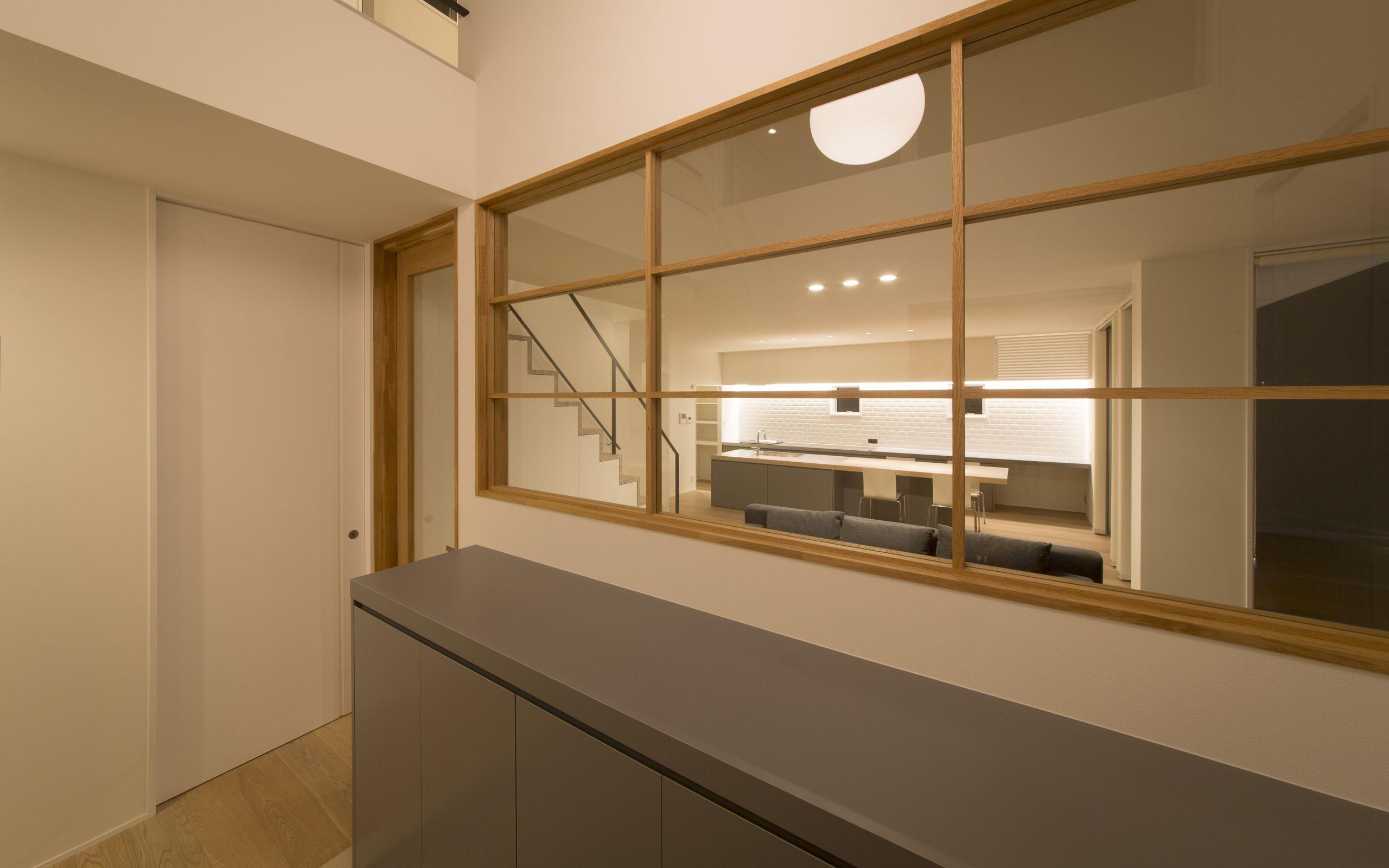 ヌーディストテラスハウスの玄関(土間・ホール)3