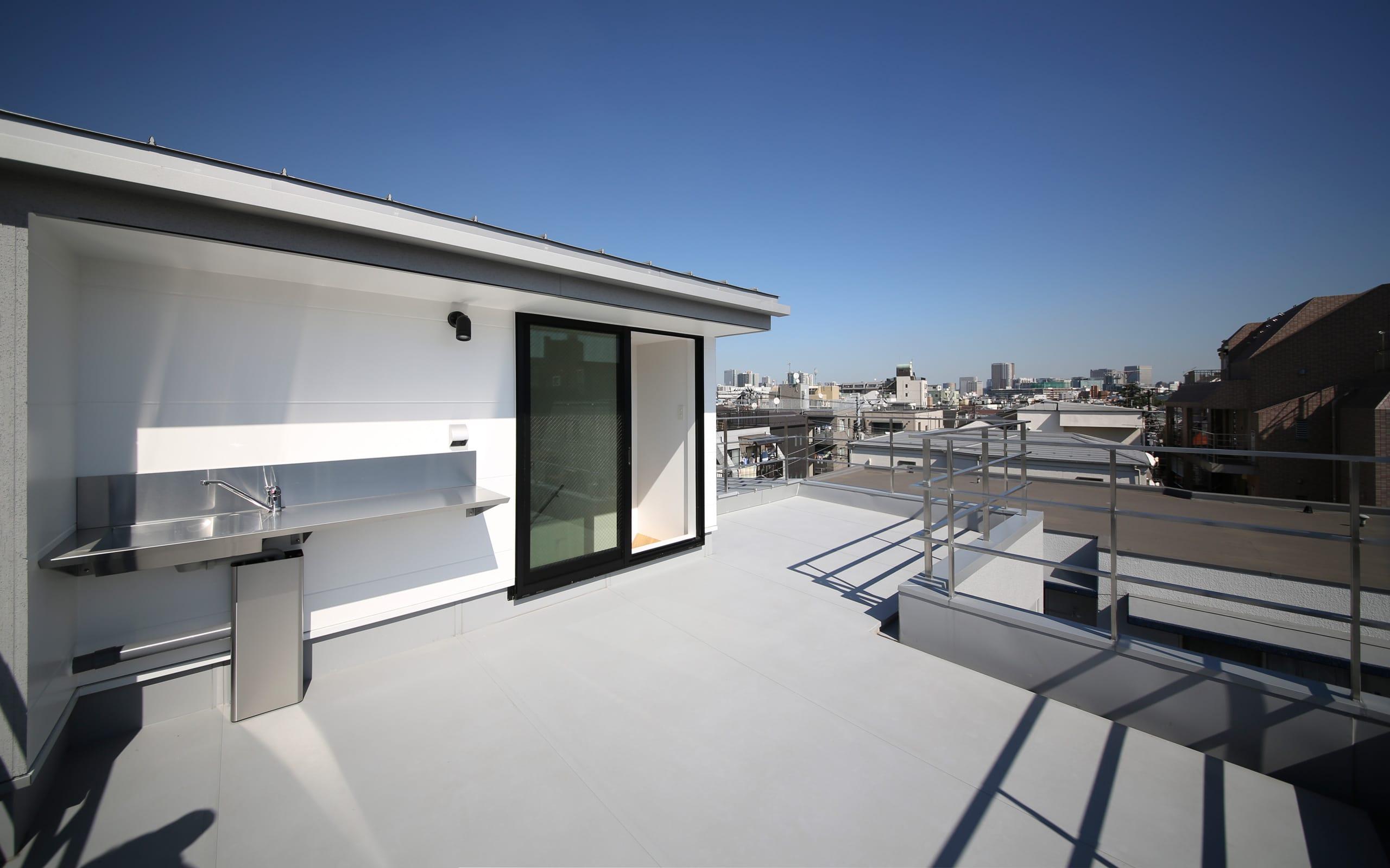 フィッシャーマンハウスの屋上・テラス1
