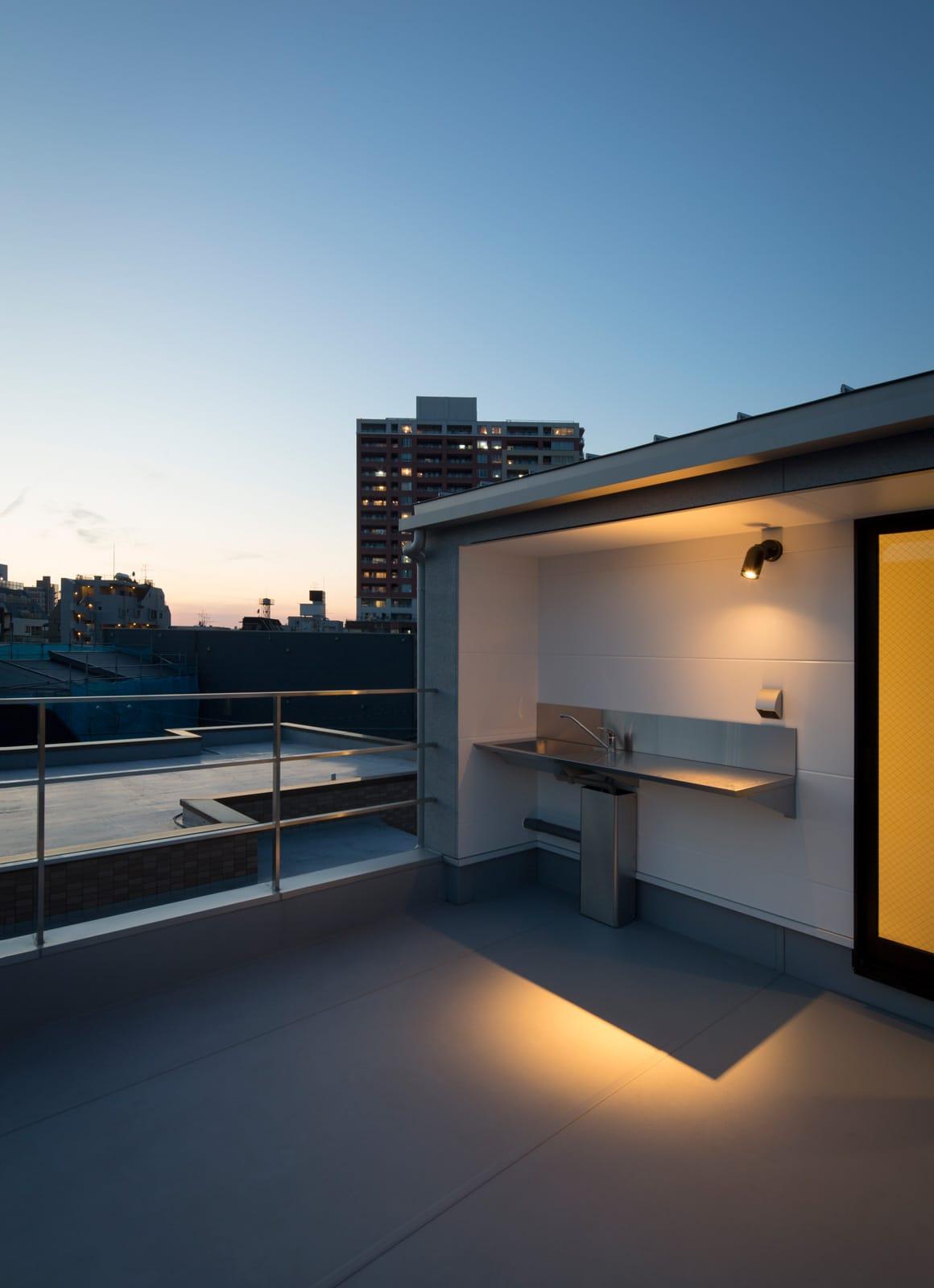 フィッシャーマンハウスの屋上・テラス2