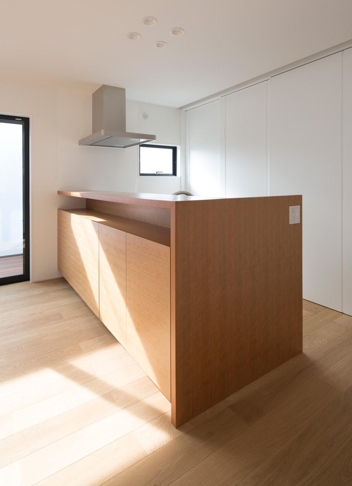 ベーシックインナーテラスハウスのキッチン1