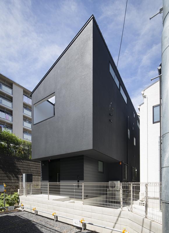コンパクトデザインハウスの外観1