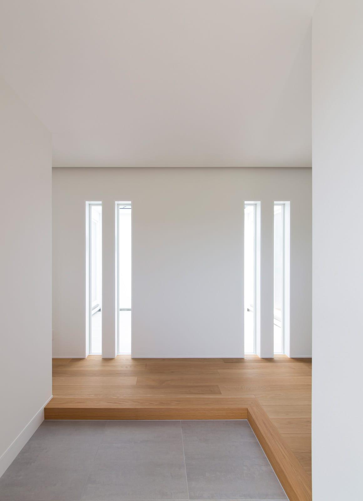 スクエアコートハウスの玄関(土間・ホール)3