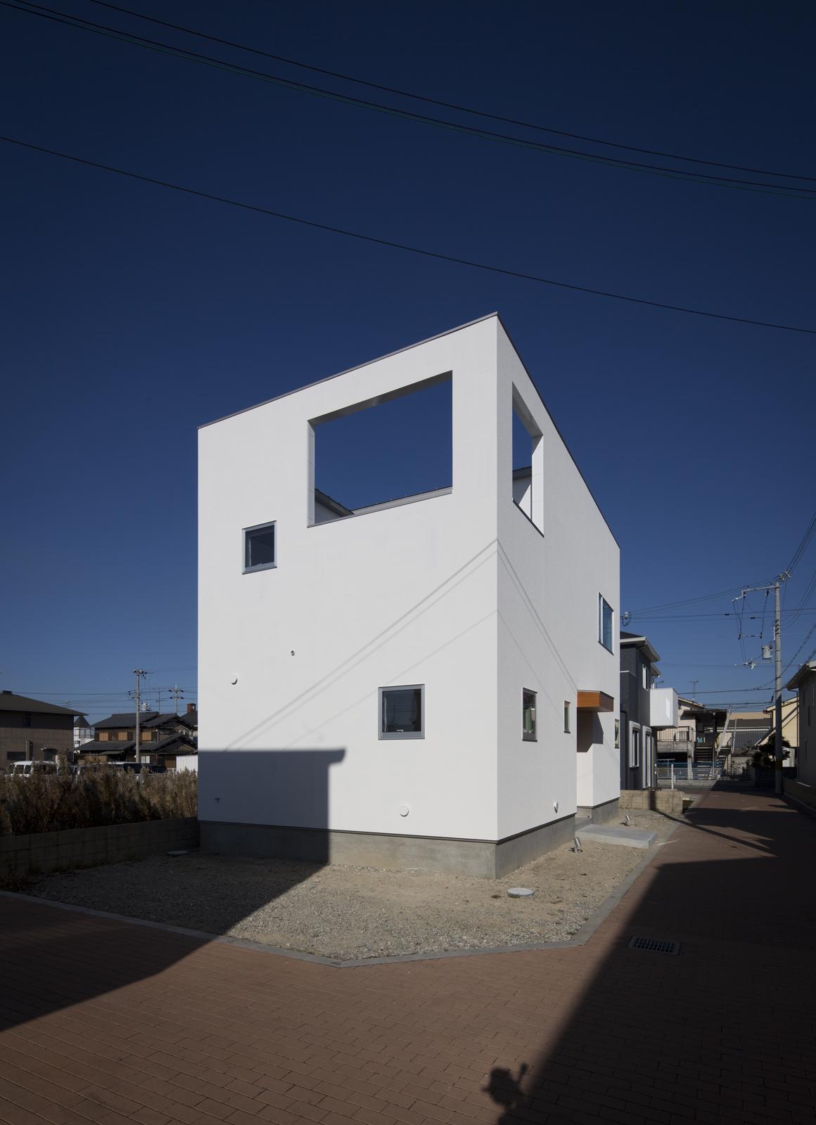 プライベートキューブハウスの外観1