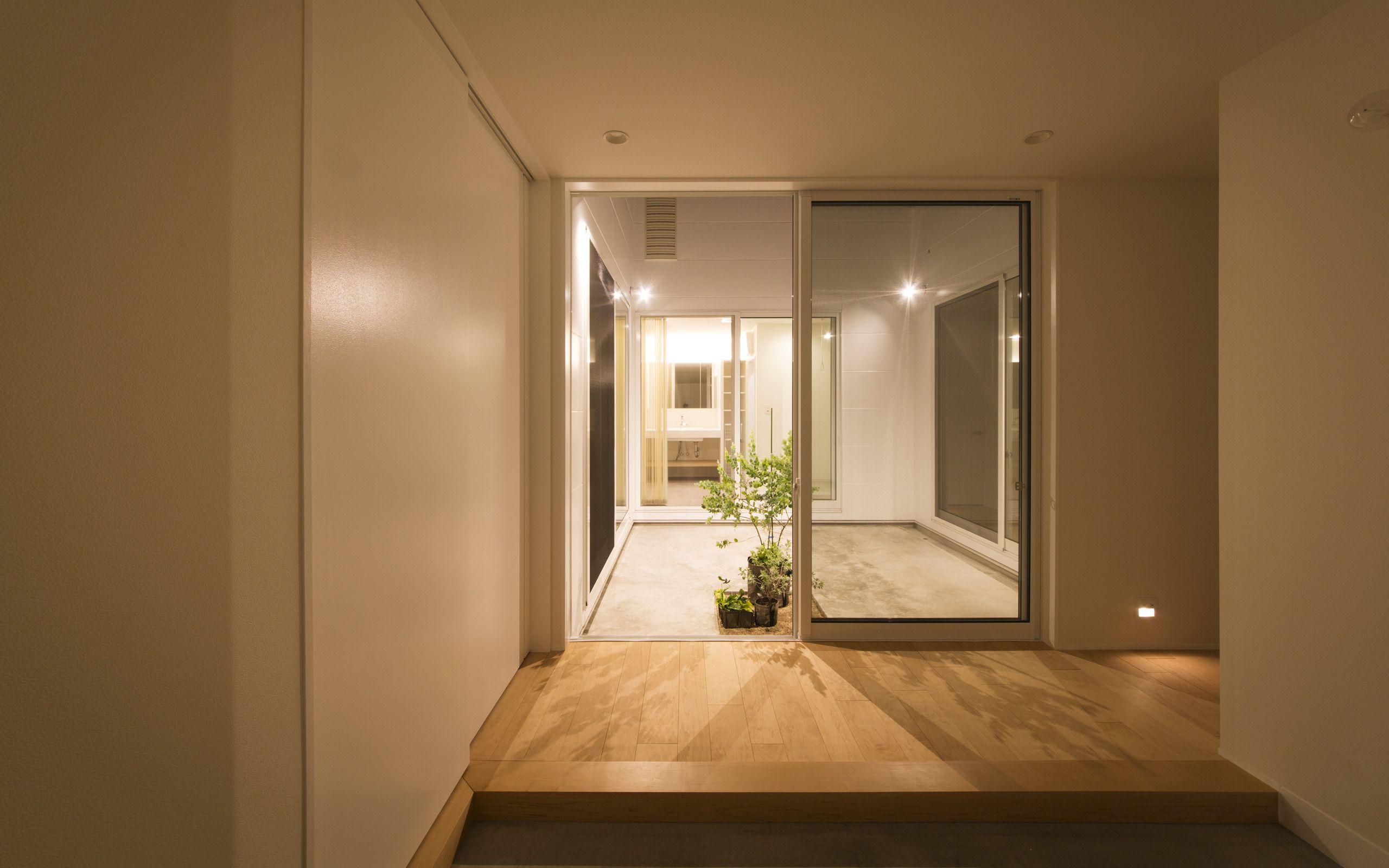 スカンジナビアンコートハウスの中庭・インナーテラス3