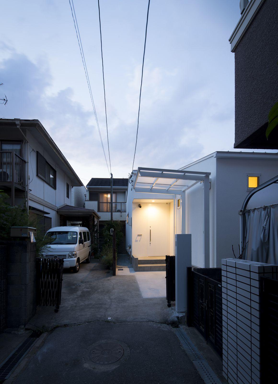 スカンジナビアンコートハウスの夕景(外部)2