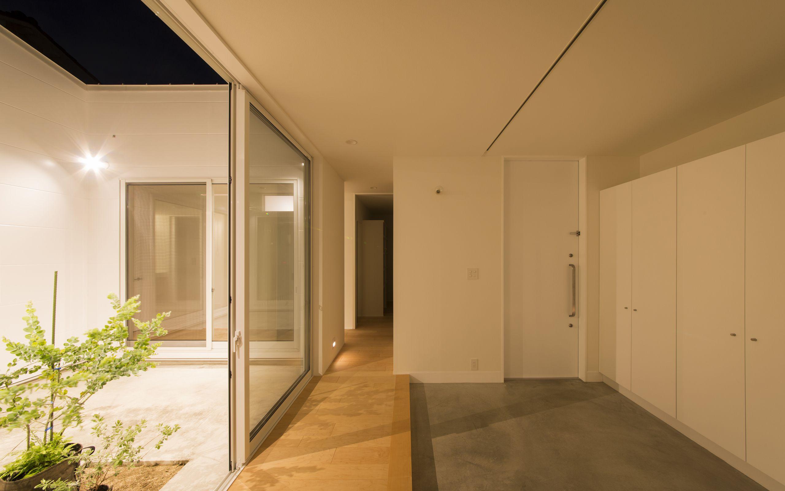 スカンジナビアンコートハウスの夕景(外部)3