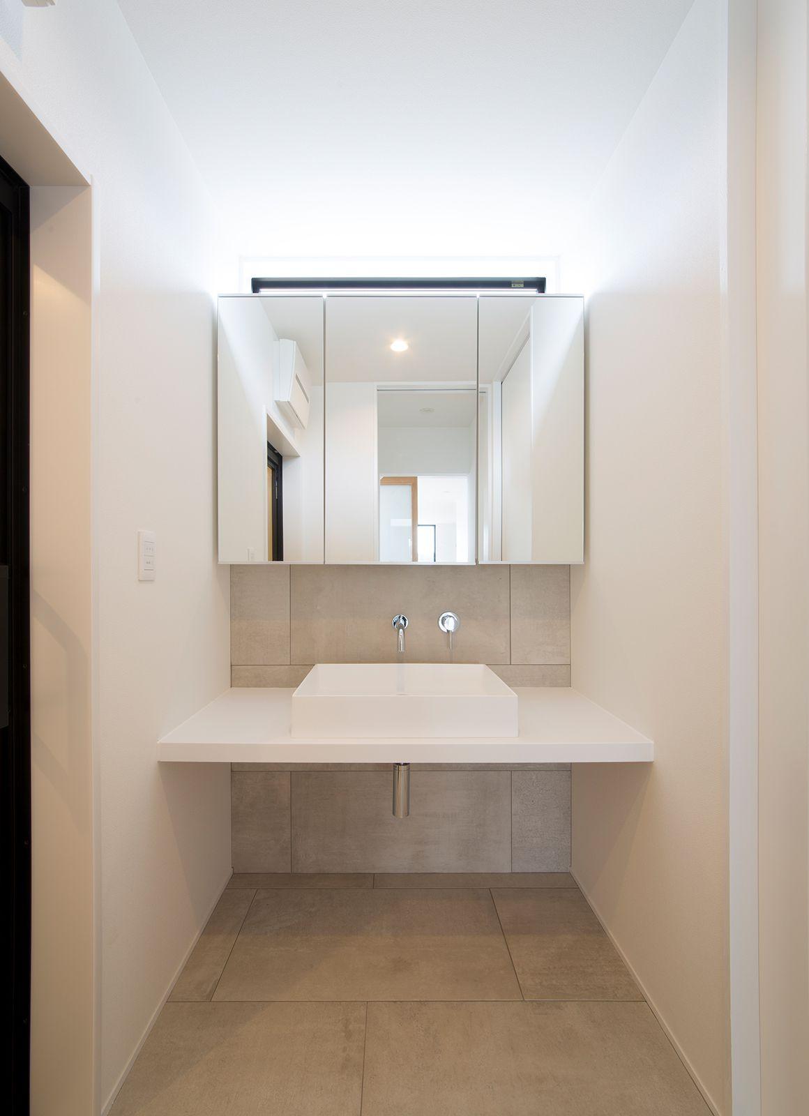 ルンバブルハウスの浴室・洗面室2